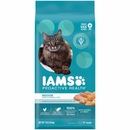 Iams Proactive Health Adult Indoor Weight Control & Hairball Care Dry Cat Food - Chicken & Turkey (7 lb)