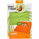 """Insect Shield Blanket 74""""x56"""" - Green"""