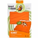 "Insect Shield Blanket 74""x56"" - Orange"