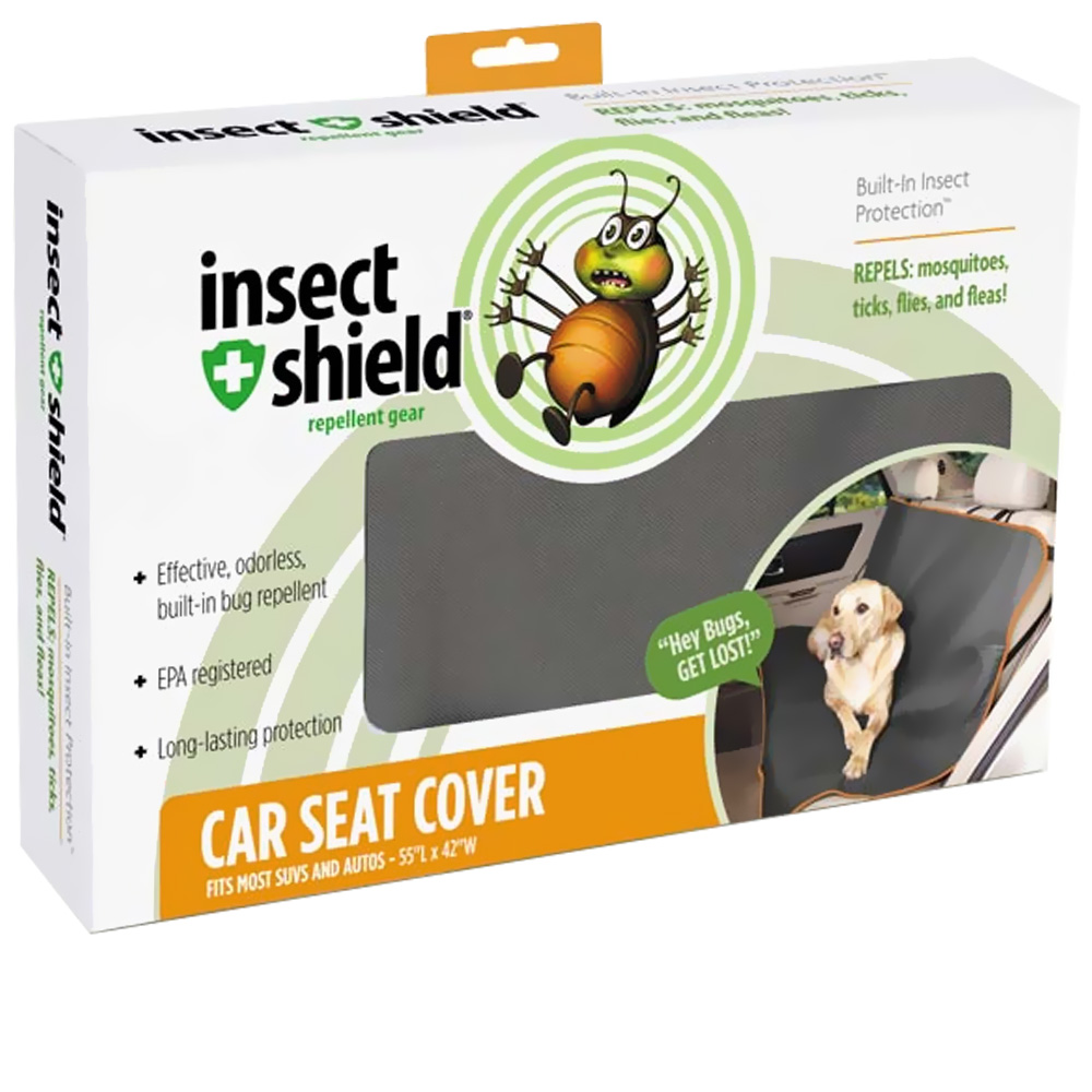 Insect Shield Car Seat Cover im test