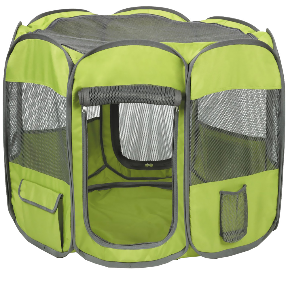 Insect Shield Fabric Exercise Pen Large - Green im test