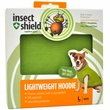 Insect Shield Lightweight Hoodie Large - Green