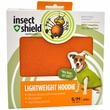 Insect Shield Lightweight Hoodie Small/Medium - Orange