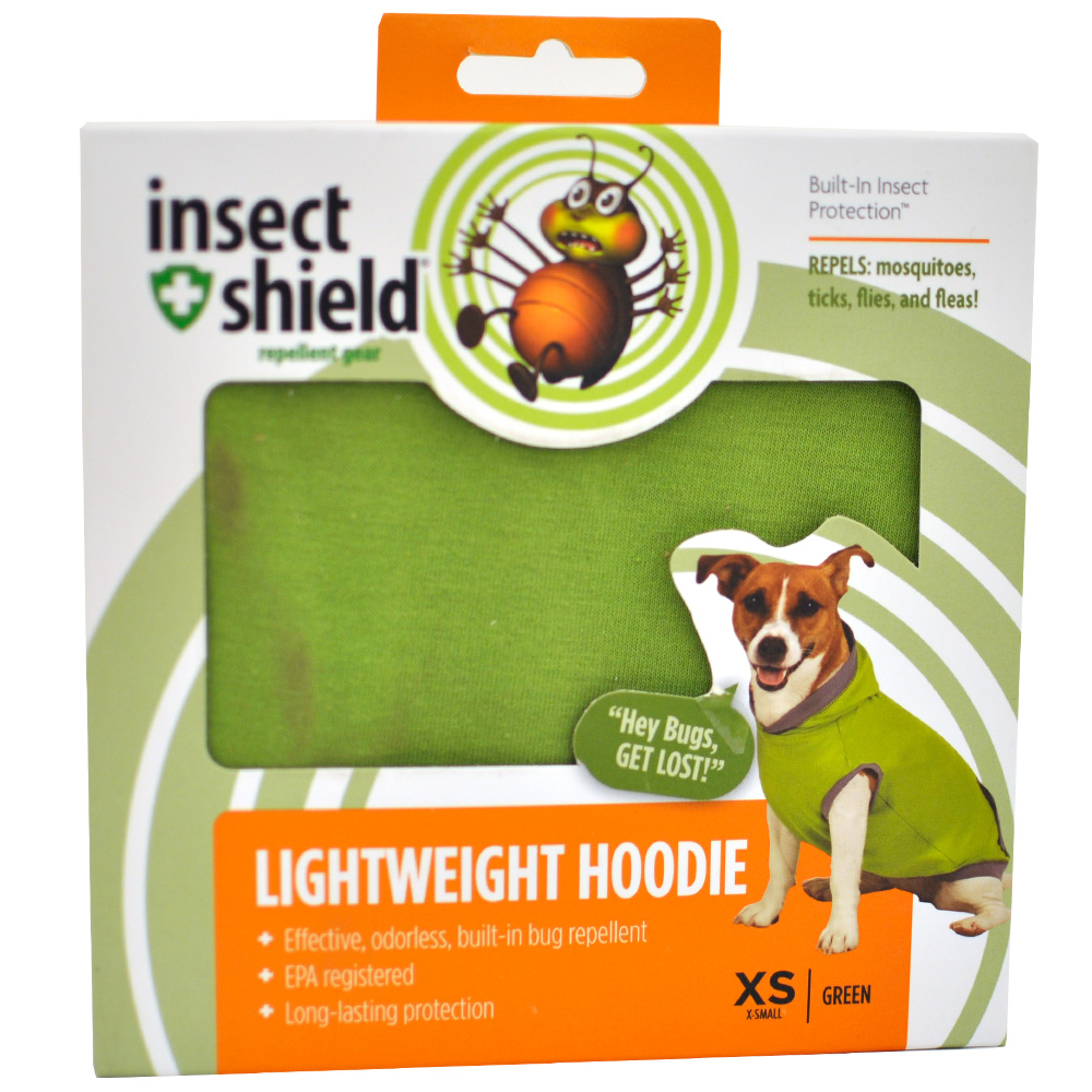 Insect Shield Lightweight Hoodie XSmall - Green im test