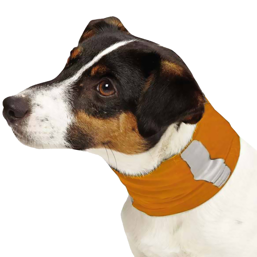 Insect Shield Neck Gaiter Large - Orange im test