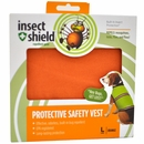 Insect Shield Protective Safety Vest Large - Orange