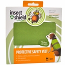 Insect Shield Protective Safety Vest Medium - Green