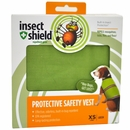 Insect Shield Protective Safety Vest XSmall - Green