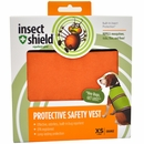 Insect Shield Protective Safety Vest XSmall Orange