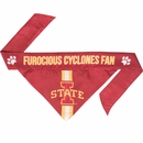 Iowa State Dog Bandana - Tie On (Large)