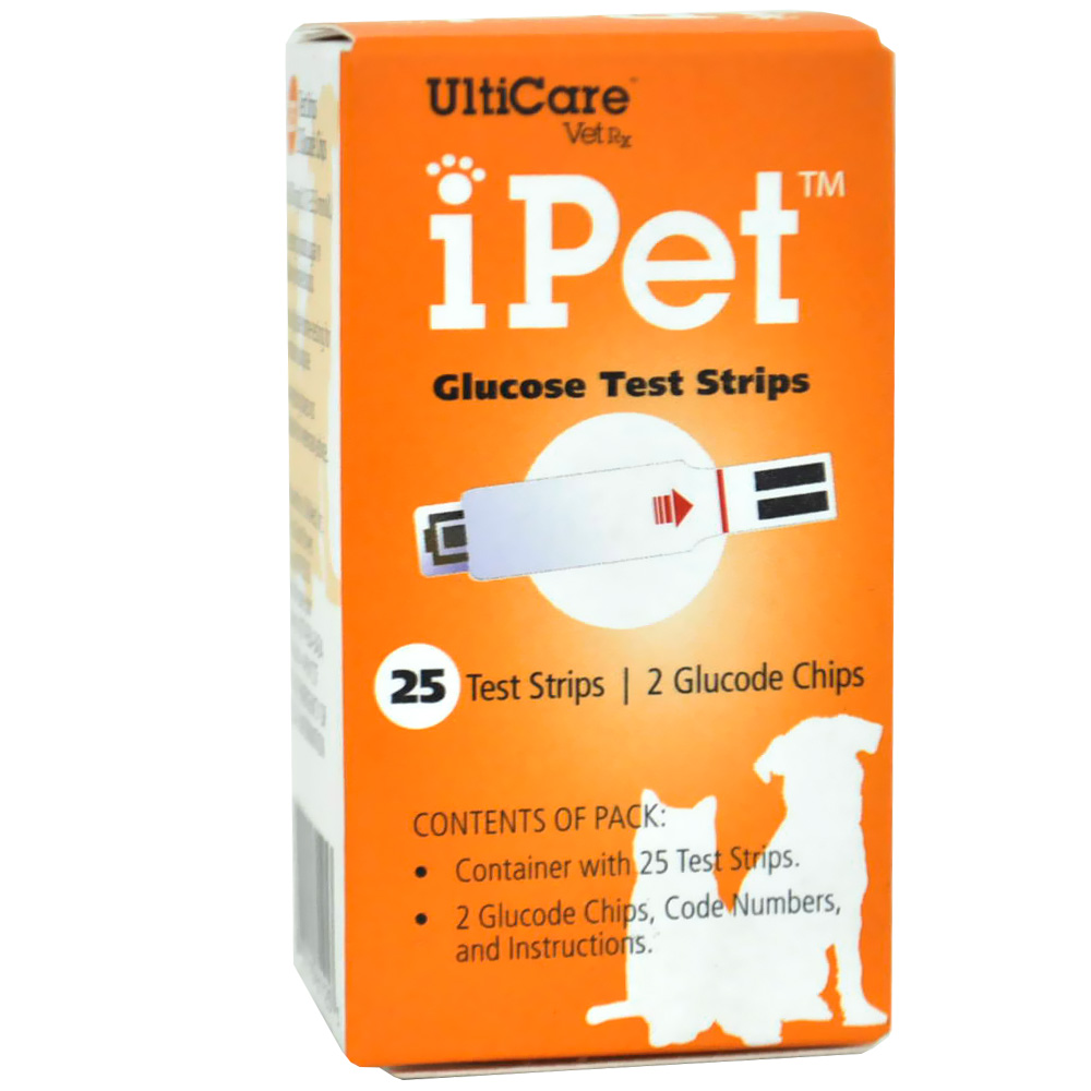 Image of iPet - Glucose Test Strips (25 count)