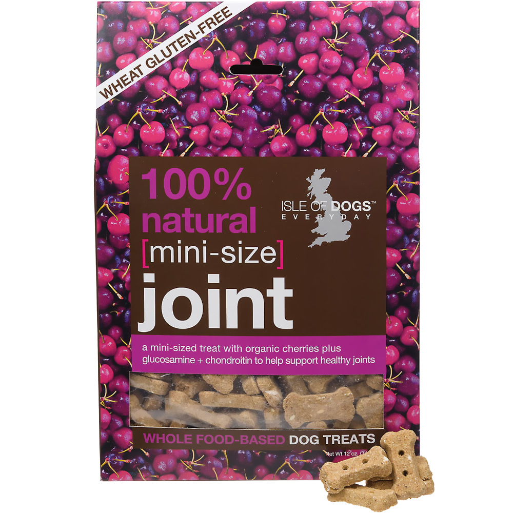 Isle of Dogs 100% Natural Joint Dog Treats - Mini Size (12 oz) im test