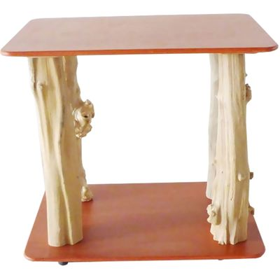 Java Table Top - Furniture Quality Floor Stand - Coco Brown