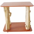 Java Table Top - Furniture Quality Floor Stand - Red Mahogany