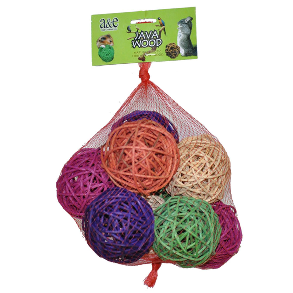 JAVA-WOOD-TOY-BALL-HIVE-10-COUNT-LARGE