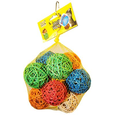 Java Wood Toy - Ball Hive 25 Count (Small)