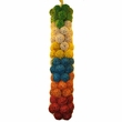 "Java Wood Toy - Colored Vine Balls 3"" (100 Pack) - Large"