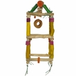 Java Wood Toy - Hanging Double Tower (Medium)