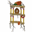 Java Wood Toy - Hanging Double Tower (Small)