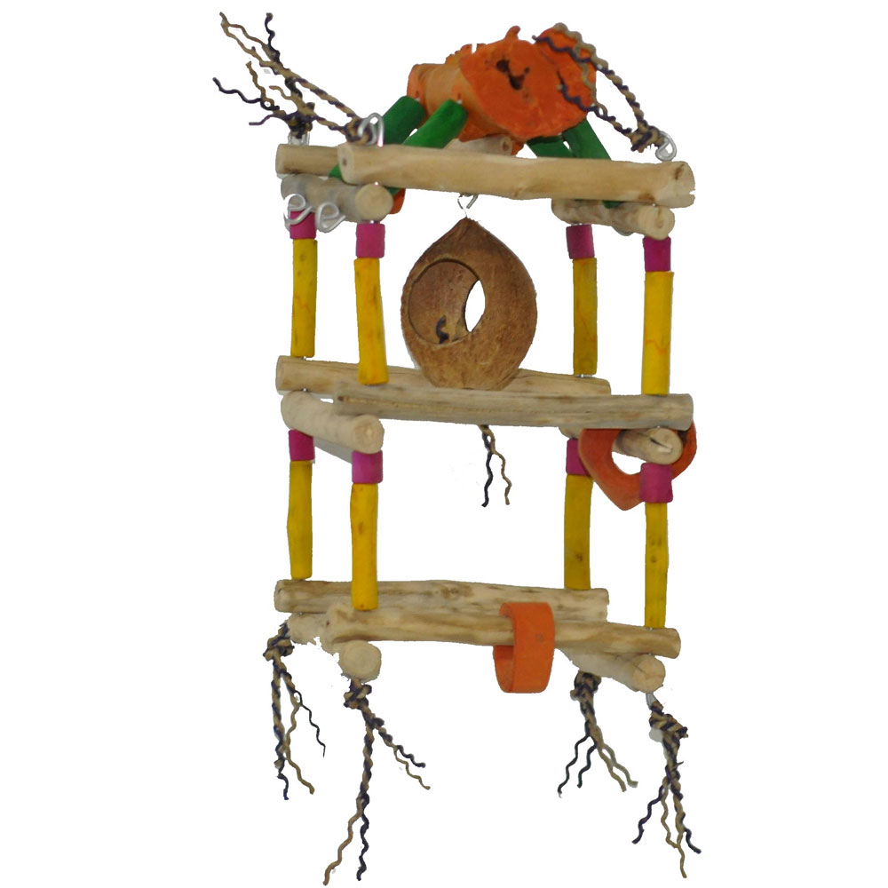 JAVA-WOOD-TOY-HANGING-DOUBLE-TOWER-SMALL