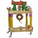 Java Wood Toy - Hanging Single Tower (Large)