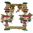 Java Wood Toy - Munchy Swinger (Large)