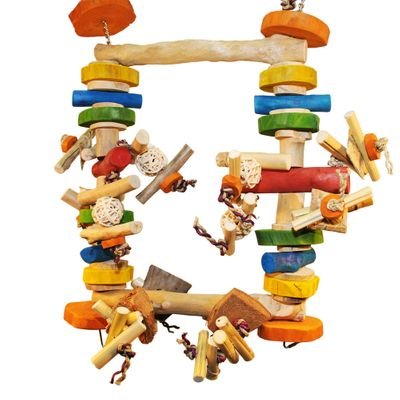 Java Wood Toy - Munchy Swinger (Medium)