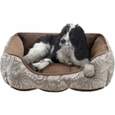 "JLA Pets Brutus Rectangular Cuddler - Brown (24x34"")"