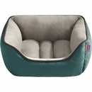 "JLA Pets Sparky Reversible Rectangular Cuddler - Green (24x34"")"