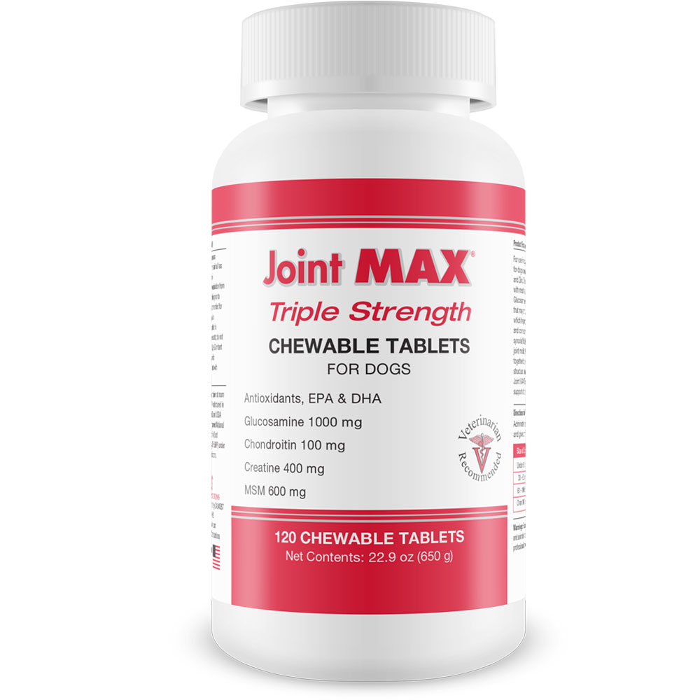 JOINT-MAX-TRIPLE-STRENGTH-CHEWABLE-TABLETS