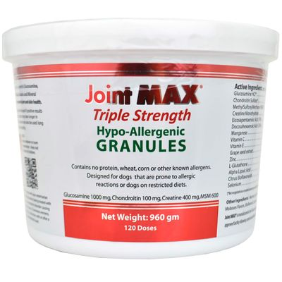 JOINT-MAX-TRIPLE-STRENGTH-HYPOALLERGENIC
