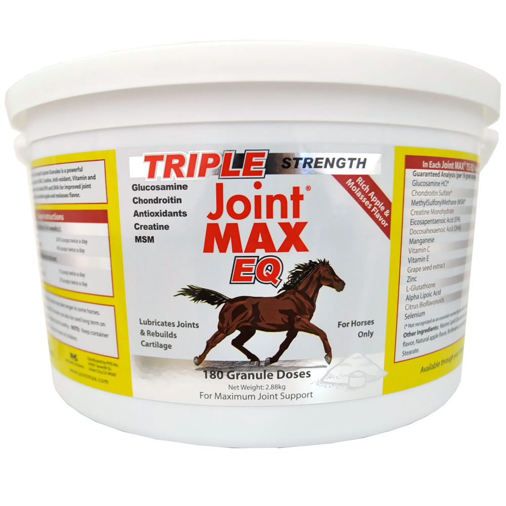 Joint MAX Triple Strength Equine Granules For Horses (180 Doses) im test