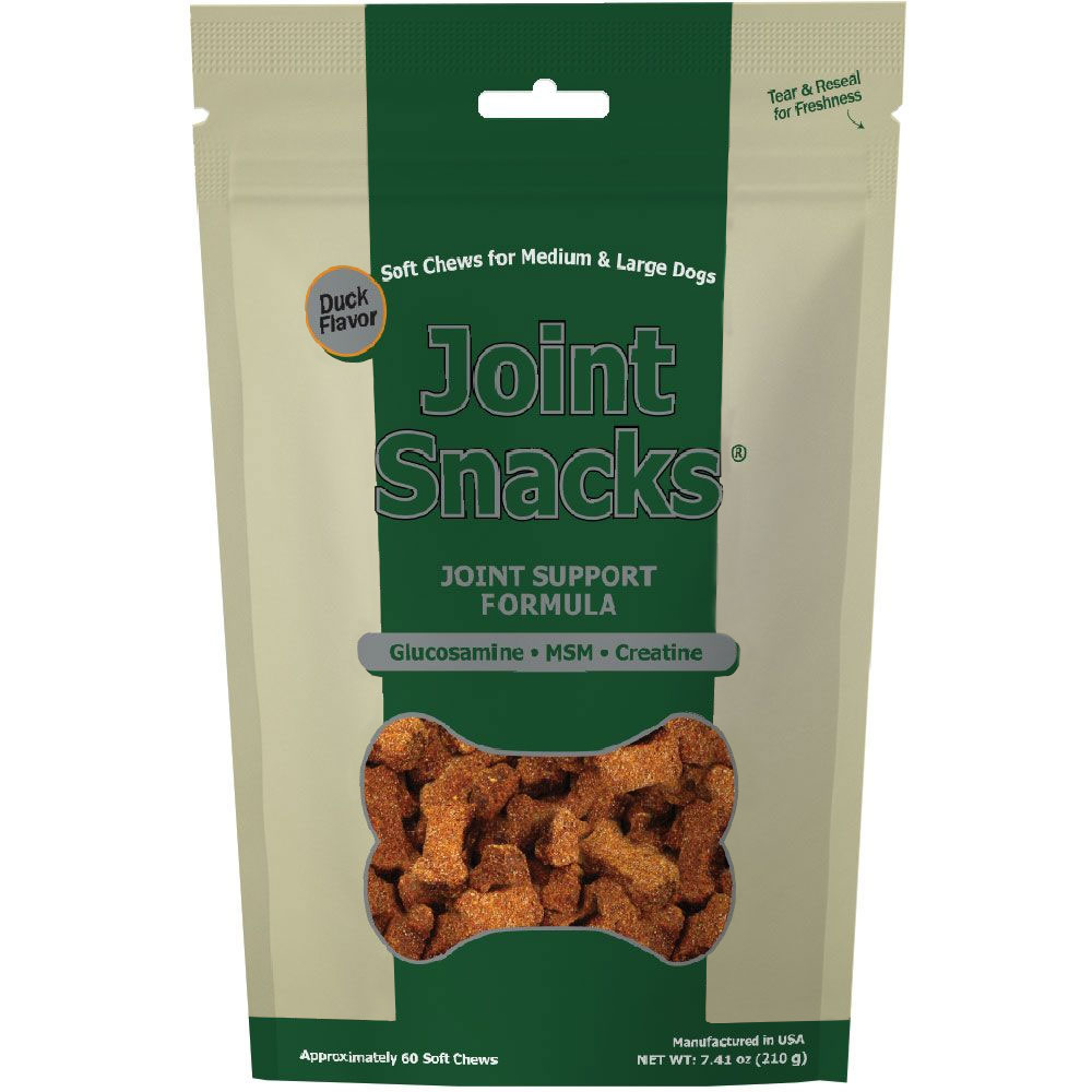 entirelypets.com - Joint Snacks for Medium & Large Dogs Duck Flavor (60 Soft Chews) 10.49 USD