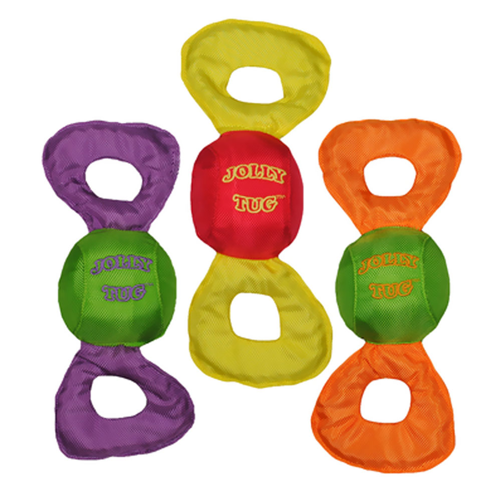 Jolly Pets Squeaky Tug Toy - Large (Assorted) im test