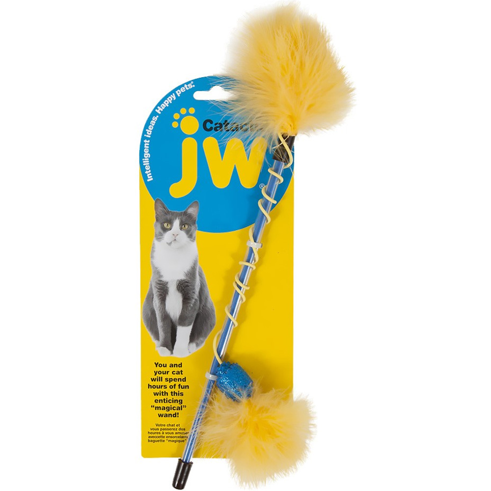 JW Pet Cataction Feather Wand im test