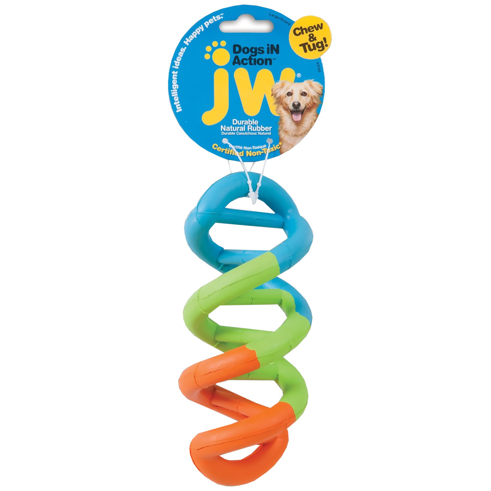 Image of JW Pet Dogs in Action Toy - Large - Assorted Colors from EntirelyPets