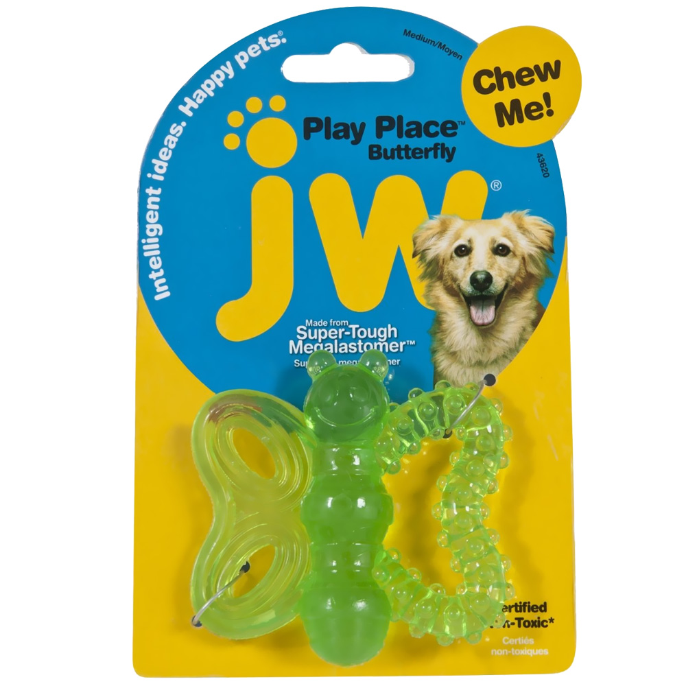 JW Pet Playplace Butterfly Teether im test