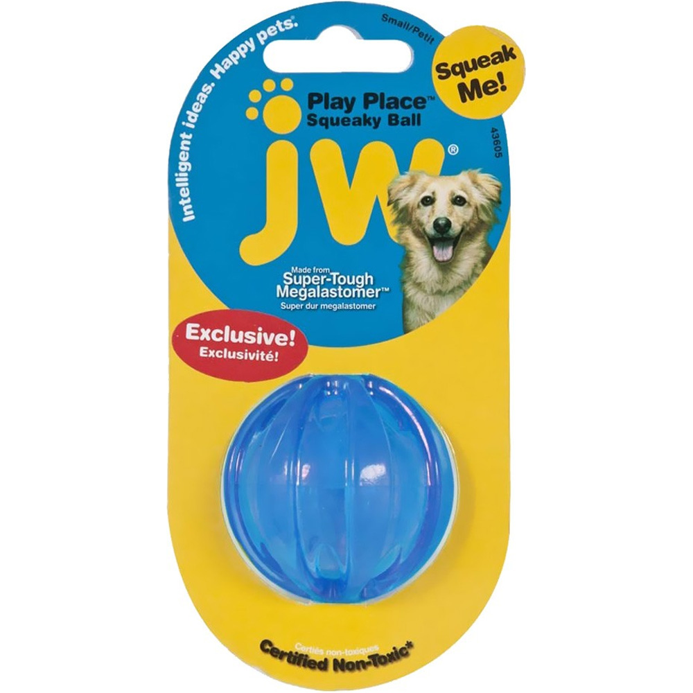 JW Pet Playplace Squeaky Ball - Small im test