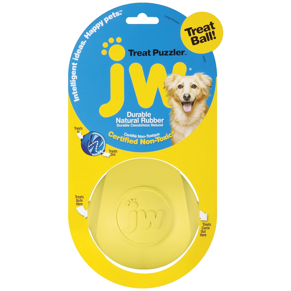 Image of JW Treat Puzzler Treat Ball - Large - For Dogs - from EntirelyPets