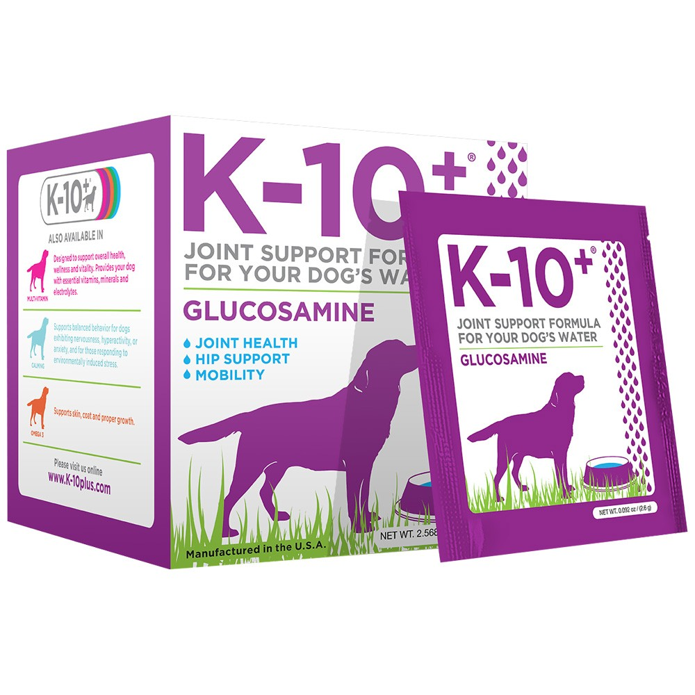K-10+ Glucosamine Joint Support For Dogs