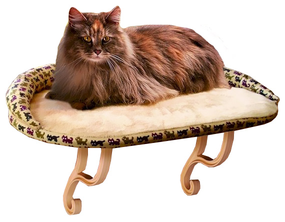 """K&H Kitty Sill Deluxe with Bolster (14"""" x 24"""")"" im test"