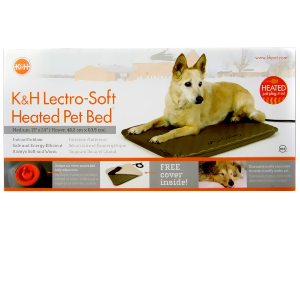 "Image of ""K&H Lectro Soft Heated Pet Bed (19"""" x 24"""")"""