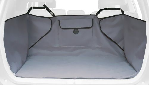K&H Quilted Cargo Cover - Gray - For Dogs - from EntirelyPets