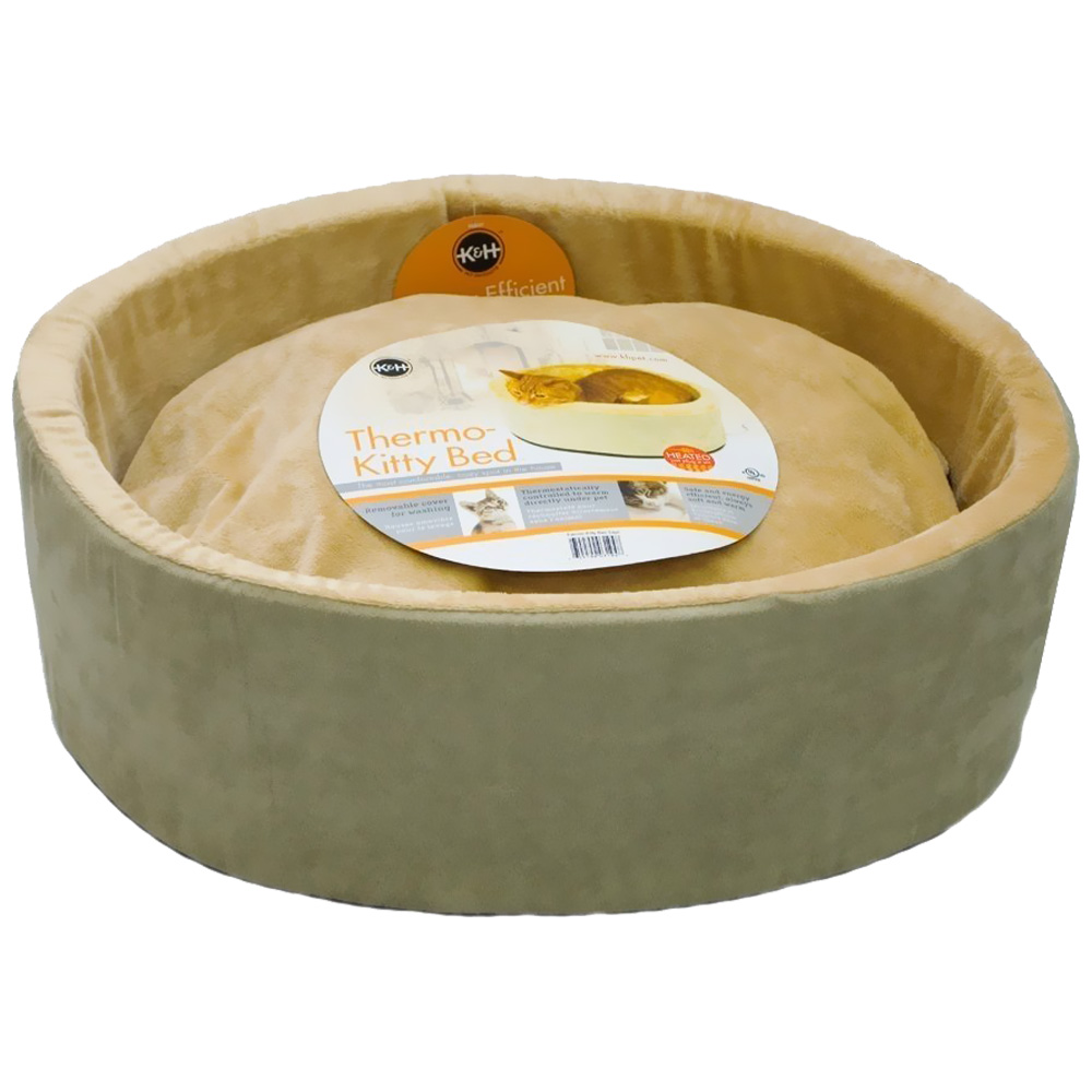 K&H Thermo-Kitty Bed Sage 16