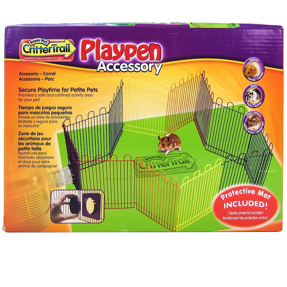 Kaytee CritterTrail Playpen im test