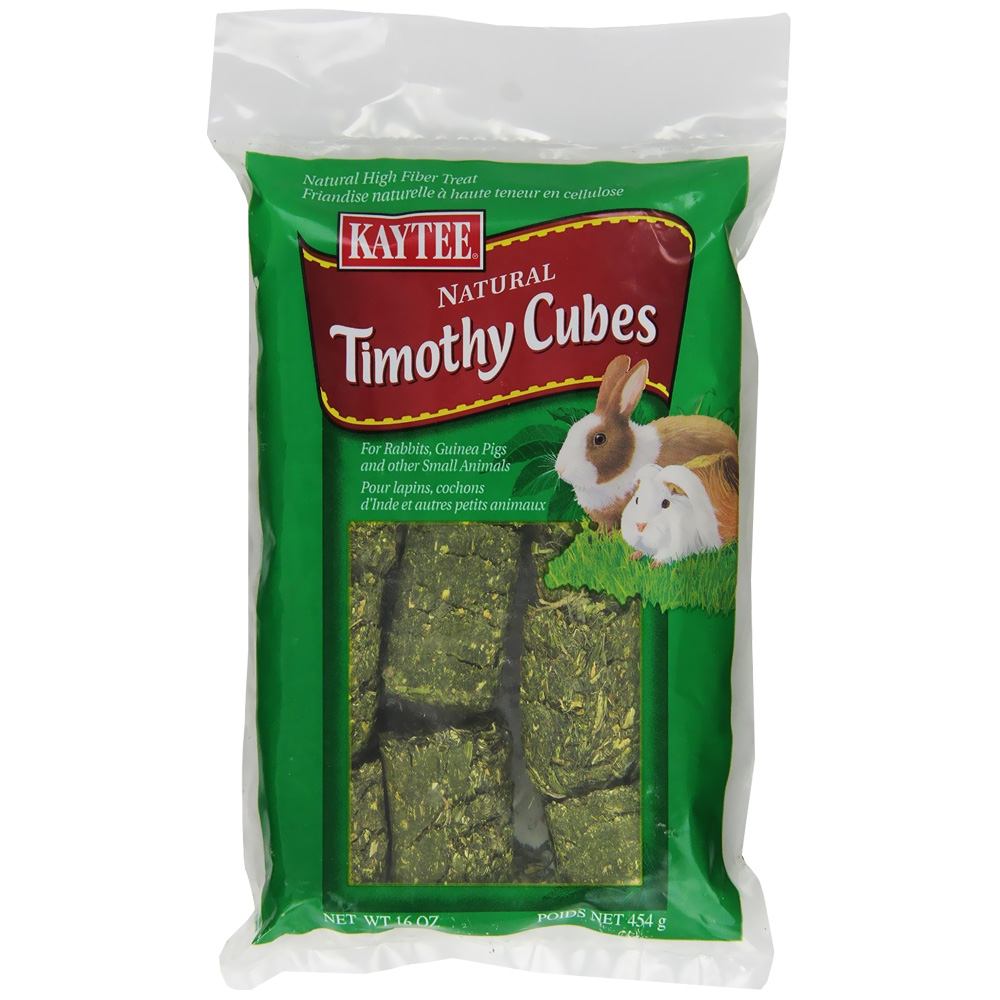 Kaytee Timothy Cubes Small Animal Treats - 1 lbs - from EntirelyPets