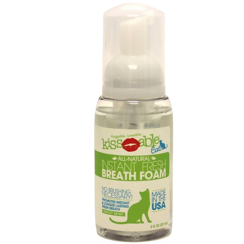 Image of KissAble Instant Fresh Breath Foam for Cats (8 oz)