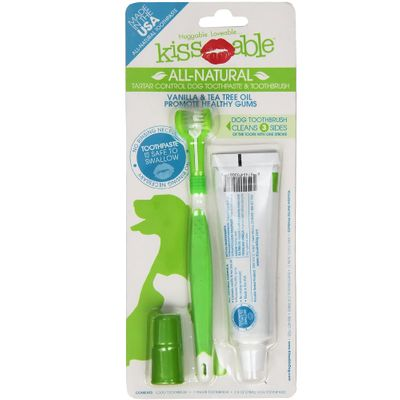 KISSABLE-TOOTHPASTE-TOOTHBRUSH-DOGS