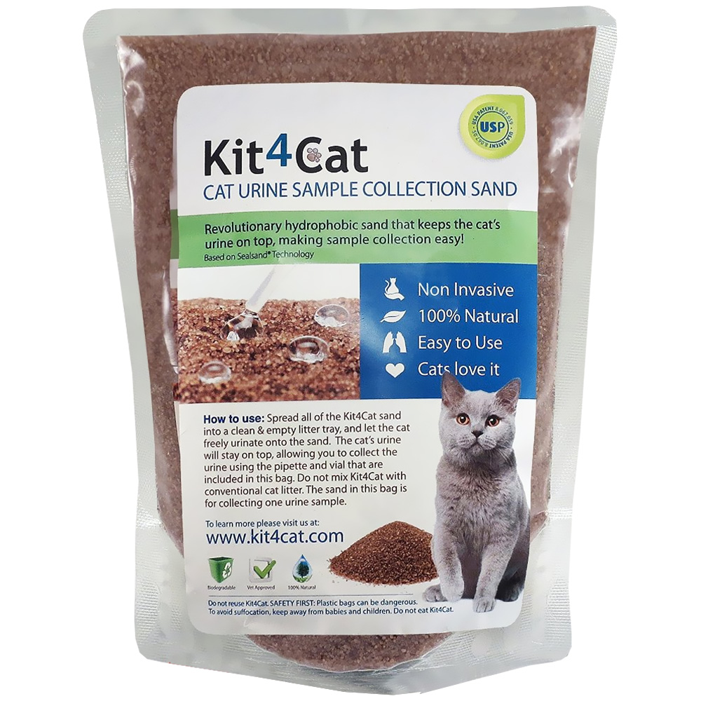 Image of Kit4Cat Cat Urine Sample Collection Sand (2 lbs bag)