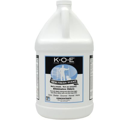 KOE Kennel Odor Eliminator Concentrate - Fresh Scent (Gallon)